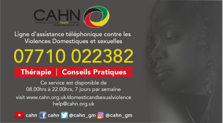 CAHN DV Helpline French